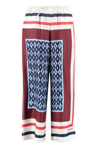 Printed cropped trousers, Cropped pants Valentino woman