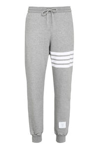 Stretch cotton track-pants, Track Pants Thom Browne man