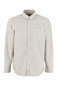 Simon cotton Oxford shirt, Striped Shirts Carhartt man
