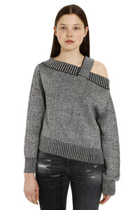 Beckett Off the shoulder sweater, Off the Shoulder RTA woman