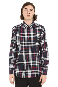 Checked flannel shirt, Checked Shirts Burberry man
