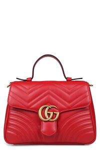 GG Marmont quilted leather bag, Top handle Gucci woman