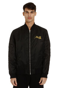 Techno satin bomber jacket, Bomber jackets Kenzo man