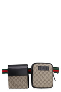 GG Supreme fabric belt bag, Beltbag Gucci man