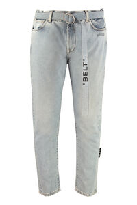 Belted slim fit jeans, Slim jeans Off-White man