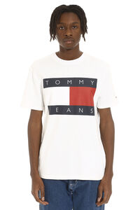 Crew-neck cotton T-shirt, Short sleeve t-shirts Tommy Jeans man