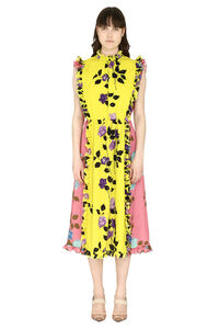 Floral print ruffled dress, Printed dresses MSGM woman