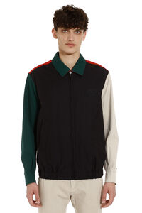 Reversible cotton gabardine jacket, Bomber jackets Burberry man