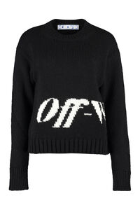 Wool blend sweater, Crew neck sweaters Off-White woman