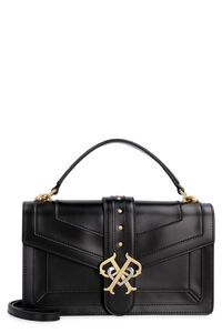 Double P leather bag, Top handle Pinko woman