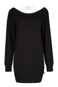 Ribbed knit dress, Mini dresses Alexander Wang woman