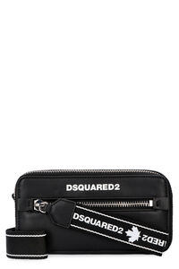 Dsquared2 Tape leather crossbody bag, Shoulderbag Dsquared2 woman