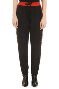 Track-pants with decorative stripes, Track Pants Marcelo Burlon County of Milan woman