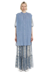 Danny cotton shirtdress, Knee Lenght Dresses Mes Demoiselles woman