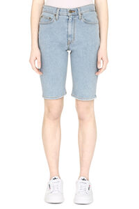 Denim cycling shorts, Denim Shorts Nanushka woman