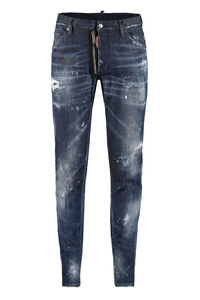 Jeans 5 tasche Cool Guy, Jeans slim Dsquared2 man