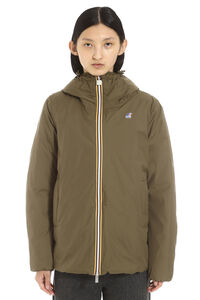 Marguerite hooded windbreaker, Raincoats And Windbreaker K-Way woman