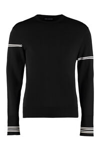 Long-sleeved crew-neck sweater, Crew necks sweaters Neil Barrett man