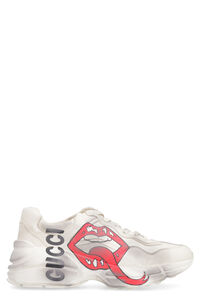 Rhyton leather sneakers, Low Top sneakers Gucci woman