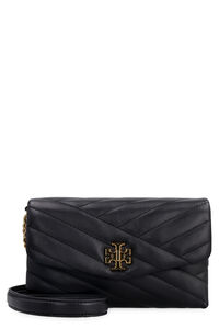 Kira quilted leather clutch, Clutch Tory Burch woman