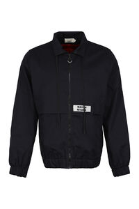 Zippered cotton jacket, Raincoats And Windbreaker Maison Kitsuné man