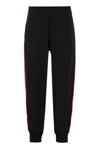 Side logo stripes track-pants, Track Pants Alexander McQueen man