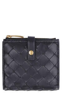 Intrecciato french-flap wallet, Wallets Bottega Veneta woman