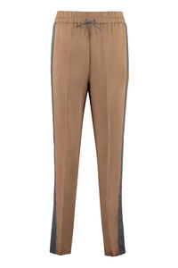 Contrasting side stripes trousers, Tapered pants Fabiana Filippi woman