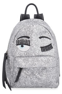 Flirting Eyes glitter backpack, Backpack Chiara Ferragni Collection woman