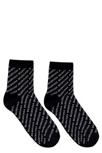 Logo cotton blend socks, Socks Balenciaga woman