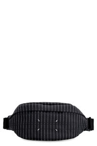 Jacquard nylon belt bag, Beltbag Maison Margiela man