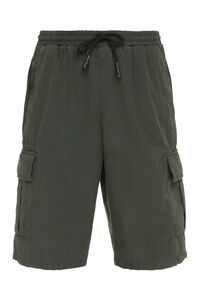Cotton cargo bermuda shorts, Shorts Amish man