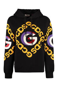 Cotton hoodie, Hoodies GCDS woman