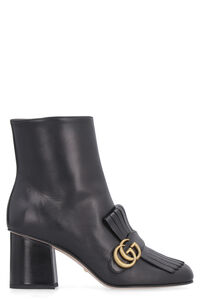 Fringes leather ankle boots, Ankle Boots Gucci woman