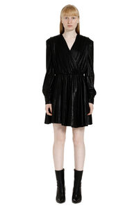 Draped lurex dress, Mini dresses MSGM woman