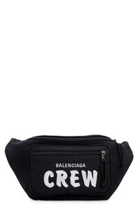 Nylon embroidered belt bag, Beltbag Balenciaga man