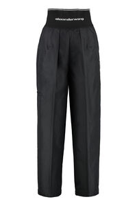 Carrot-fit cotton trousers, Cropped pants Alexander Wang woman
