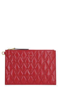 GV3 flat leather pouch, Clutch Givenchy woman