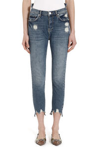 Taylor destroyed skinny jeans, Skinny Leg Jeans Pinko woman