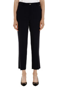Cropped crêpe trousers, Cropped pants Salvatore Ferragamo woman