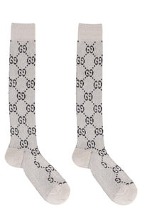 GG motif cotton-blend socks, Socks Gucci woman