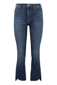 Jeans 5 tasche Insider Crop Step Fray, Jeans cropped Mother woman