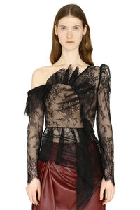 Lace frilled top, Blouses Self-Portrait woman