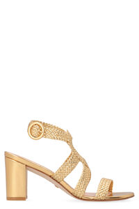 Vicky metallic leather sandals, High Heels sandals Stuart Weitzman woman