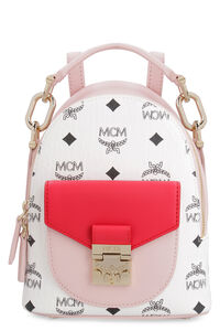 Mini Patricia Visetos backpack, Backpack MCM woman