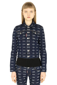 Classic denim jacket, Denim Jackets Dsquared2 woman