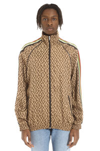 Jacquard zipped bomber jacket, Bomber jackets Gucci man