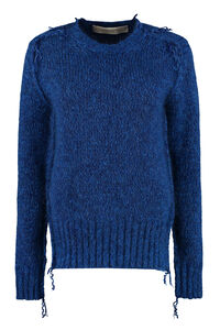 Annamaria long sleeve crew-neck sweater, Crew neck sweaters Golden Goose woman