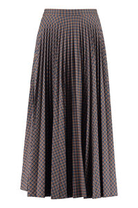 Verve check pleated skirt, Pleated skirts Max Mara Studio woman