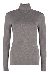 Turtleneck merino wool sweater, Turtleneck sweaters Burberry woman